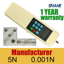 force gauge HF-5 digital force gauge CE certificate, good quality, force tester, force meter DHL free shipping