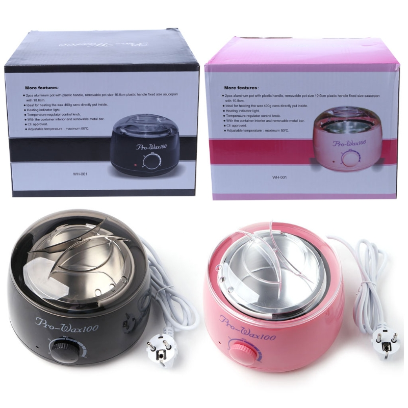 220V Salon Spa Hair Removal Hot Paraffin Wax Warmer Heater Pot Machine Kit