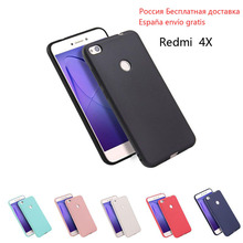 "Xiaomi Redmi 4X 5.0""inch Case Soft Silicone TPU Cover Case for Xiaomi Redmi 4X Full Protective Shockproof colorful Phone Case"