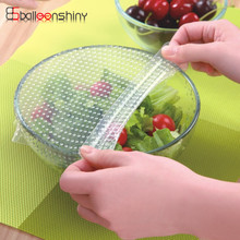 Multifunctional Silicone Food Seal Cling Film Vacuum Keep Fresh Plastic Wrap Preservative Film For Refrigerator