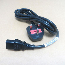 1.8m British Standard Power cord Hongkong plug Computer host power cable 0.75 square wire 100pcs
