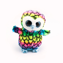 Ty Beanie Boos Original Big Eyes Plush Toy Doll 10 - 15cm Multicolor Owl TY Baby For Kids Brithday Gifts