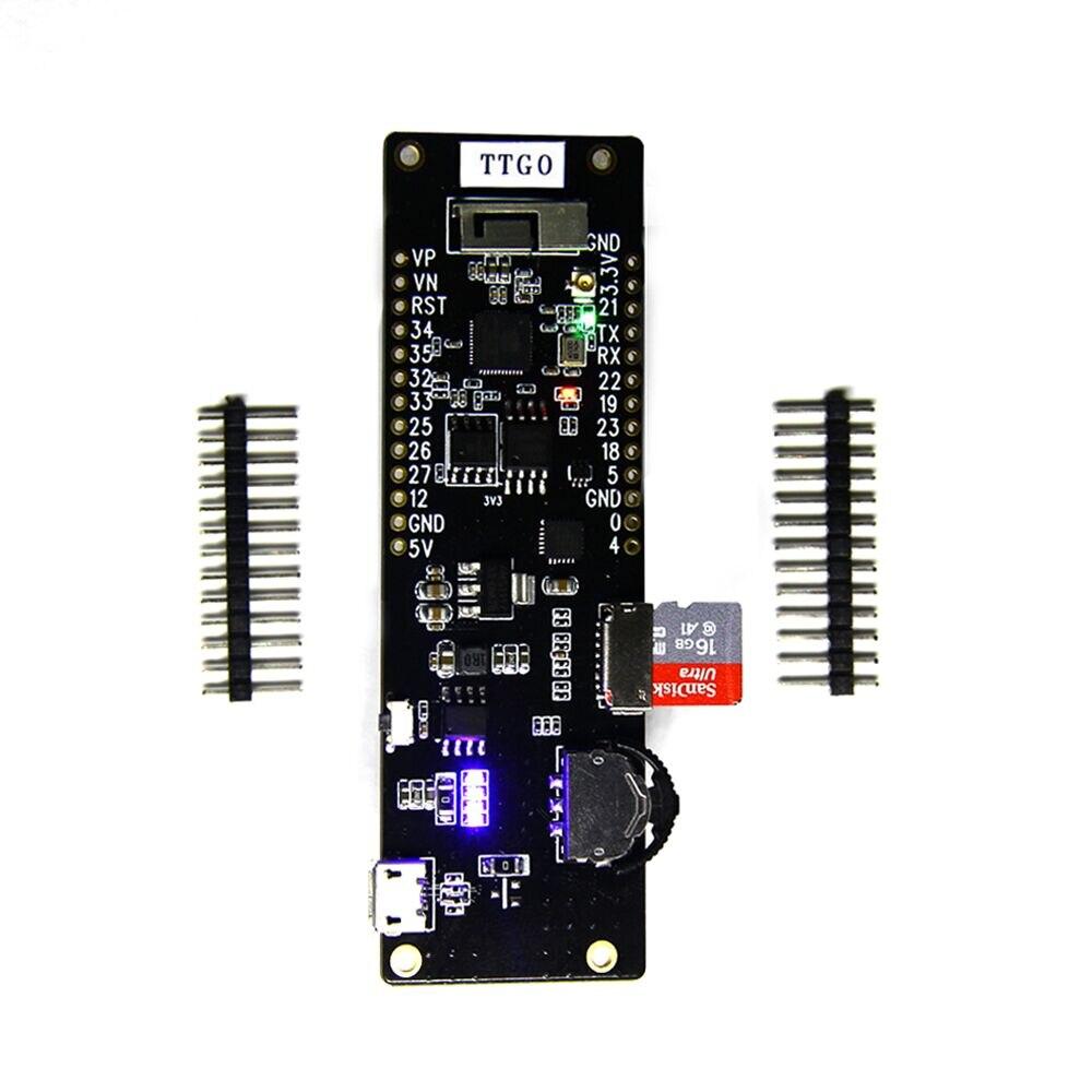 TTGO New WiFi Bluetooth Module 18650 Battery holder ESP32 4 MB SPI Flash 4 MB Psram 2A fuse
