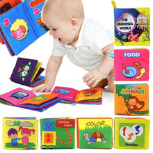 Buy Soft Cloth Baby Boys Girls Books Rustle Sound Infant Educational Stroller Rattle Toys Newborn Baby 0-12 month 12 types for $1.30 in AliExpress store