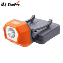 ThorFire HL1507 3 modes Strong 126lm XPE R2 LED Headlight Rotate Riding Headlamp Clip-on Cap Hat Head Lamp Light by aaa battery(China)
