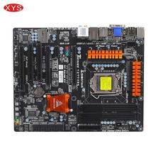 BIOSTAR TZ77XE4 Original Used Desktop Motherboard Z77 LGA 1155 DDR3 32G SATA3 USB3.0 ATX Motherboard(China)