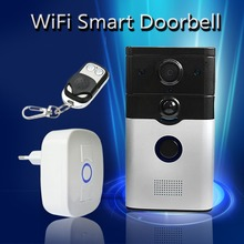 YobangSecurity Wifi Video Door Phone Wireless Intercom Enabled Video Doorbell With Remote Controller,Music Doorbell Android IOS