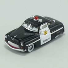 Pixar Cars Sheriff Diecast Metal Toy Car For Children Gift 1:55 Loose New In Stock(China)