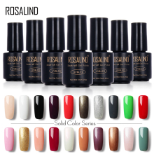ROSALIND  7ML 58 Colorful 01-30 UV LED Soak-off Gel Nail Polish Nail Art Nail Gel Polish Semi Permanent Gel Varnishes Gel Lak