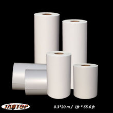 TAOTOP   0.3*20m / 1ft*65.6ft  blank agua water transfer film blank hydrographic film