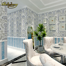 beibehang wall paper Pune exotic Southeast Asian style wallpaper AB Non-woven wallpaper bedroom living room sofa TV Version Wall