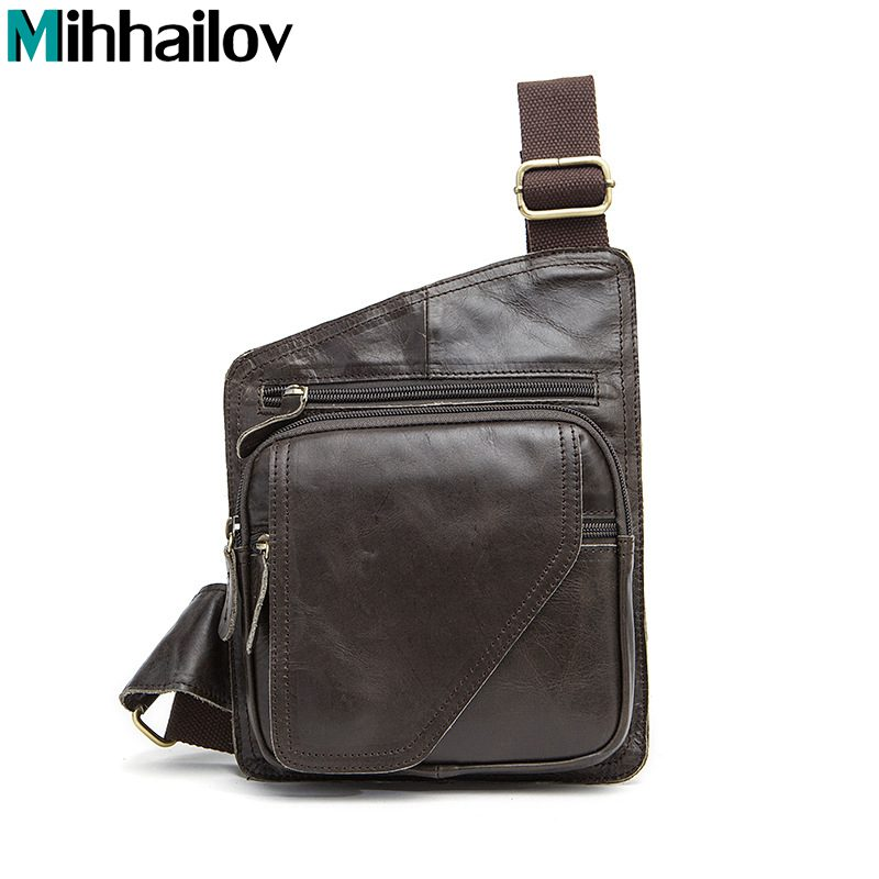 2017 100% Top Cow Genuine Leather Versatile Casual Shoulder Men Messenger Bags for Men Soild and Zipper Free Shipping KY-54<br><br>Aliexpress