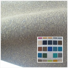 NEW! High quality grinding synthetic leather fabric Semi pu faux leather textile fabric 65 color 1.4 MM for bag(China)