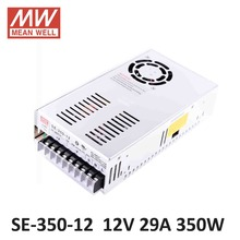 ac dc power source 12V 29A 350W Meanwell Switch Power Supply SE-350-12 Industrial Economical medium to high power model 12V
