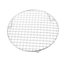 Lychee 1pc Stainless Steel Cross Wire Steaming Barbecue Rack BBQ Grill Mesh Oven Net Carbon Grill(China)