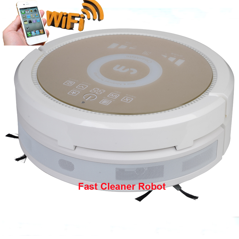 Free Shipping to Russia/Intelligent Robot Vacuum Cleaner 6 in1 multifunctional cheap robot vacuum cleaner with air purifier(China (Mainland))