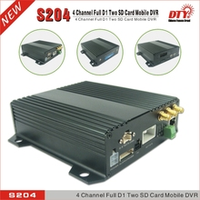 DTY h264 net surveillance 3g 4 channel usb 2.0 dvr for buses taxi truck, S204-3G