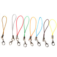 100Pcs Cell Phone Lanyard Cord Phone Straps Squishy Toy Strap Mobile Hand for Key Bag USB Flash Disk Mp3 Mp4 Multi Color(China)