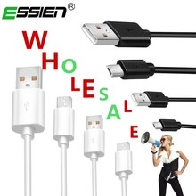 Buy ESSIEN Micro USB Cable Charging USB Data Cable Android Microusb Charger Cable Samsung Xiaomi Tablet Mobile Phone Data Cables for $1.49 in AliExpress store