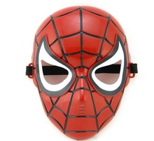 2017 PVC Full Face SpiderMan Mask Fancy Dress Masquerade Costume Halloween Party