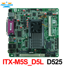 D525 motherboard with LVDS ITX-M5S_D5L with 5*COM Motherboard Mini Itx mainboard