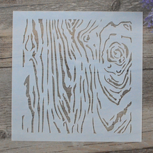 DIY Craft Layering Tree Grain Stencils For Walls Painting Scrapbooking Stamping Stamps Album Decorative Embossing Paper Cards
