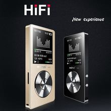 2018 HiFi Metal MP4 Player Built-in Speaker 8GB 1.8 Inch Screen Play 80 hrs can Support 128GB SD Card with Video Alarm FM Radio(China)