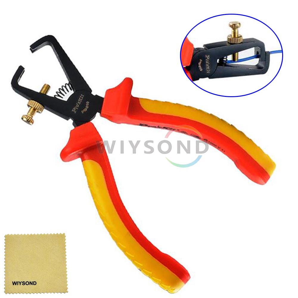 TL029 VDE Wire Stripping Pliers 160mm Precision forging Safety 1000v AC High Voltage Resistance<br><br>Aliexpress