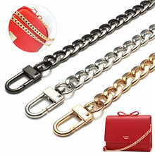 DIY Metal Stainless Steel Purse Chain Replacement Strap Handle Shoulder Crossbody Handbag Bag Metal Bag Replacement Accessaries