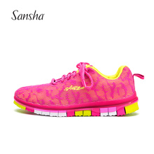 Sansha   Air Mesh Running Shoes Colorful Soft Outsole With Amazing Bending Function And Light Material  EVS02M