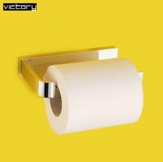 Brass chorm toilet paper holder bathroom brass toilet paper holder paper towel holder paper box roll holder toilet<br>