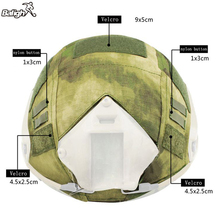 Balight Outdoor Helmet BJ/PJ/MH Multicam/Typhon Emerson Paintball Wargame Army Airsoft Tactical Military Cycling Helmet Cover(China)