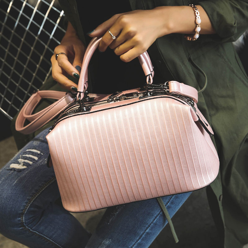 Metallic Shiny Woman Bags Boston Top-Handle Bag Vintage Tote Designer Female Women Shoulder Bag Handbags Crossbody Famous Brand<br><br>Aliexpress