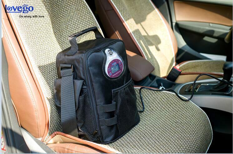LG02 PLUS-in the car