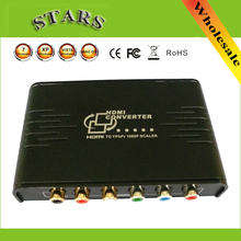 HDMI to 1080P Component Video YPbPr Scaler Converter Supporting Coaxial Audio Output Convert HDMI Input into Analog YPbPr Video(China)