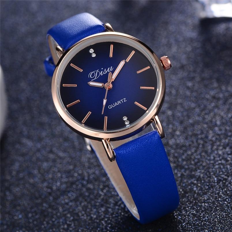 2018 Fashion Simple Quartz Watch Women Wrist Watches Ladies Wristwatch Clock Quartz-watch Relogio Feminino Montre Femme Gifts