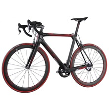 2016 ican full carbon bike aero road bike carbon fiber bicycle for Professional race Force group carbon frame+wheels(China)