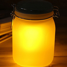 The pinnacle of solar powered garden lights Sun Jar night lamps for home bedroom decoration kids' birthday gifts(China)