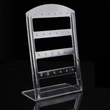 24 Holes Earring Jewelry Plastic Display ShowCase Rack Stand Organizer Holder-W128