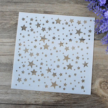 DIY Craft Star Layering Stencil For Walls Painting Scrapbooking Stamping Album Decorative Embossing Paper Card Airbrush Template