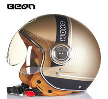 2015 New Dutch BEON HHarleyy style helmets B-110B half face helmet Motorcycle electric bicycle men/women - Automobile motorcycle tribe store