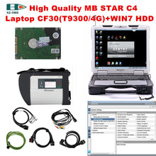 2017 for mercedes benz star diagnosis mb star c4 car tester and with 2017 09 DTS Software 320G HDD Laptop CF30 DHL Free Shipping