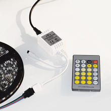 24Key IR Led CCT Color Temperature Controller DC12-24V Input for 3528 5050 5730 5630 Led Strip CT controller