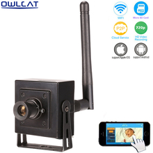 OWLCAT MINI IP camera HD 960p 720P Microphone Audio Talk support onvif Indoor WIFI IP camera P2P Support Android iPhone SD Card(China)