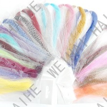 CRYSTAL HOLOGRAPHIC FLASHABOU - krystal, tinsel,crystal flash for fly tying Materials