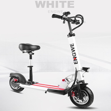 "2017 NEW Electric Scooter10""Aluminum Foldable electric bike 48V18A Lithium Battery 500W motor for Adults and Children bicycle"