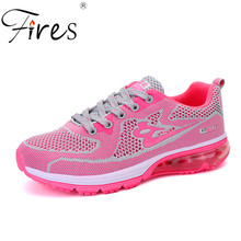 Buy Fires Women Sneakers Summer Sports Shoes 2017 New Release Outdoor Running Shoes Girl Trend Pink Air Cushion Shoes Zapatillas for $15.55 in AliExpress store