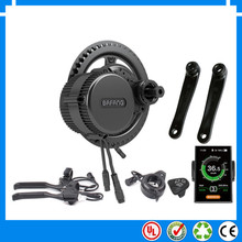 New Bafang BBS02B 48V 500W Ebike Motor with C965 LCD bafang mid drive Electric Bike conversion kits