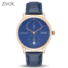 Buy zivok Fashion Sport Watch Men Relogio Masculino Blue Leather Army Military Watches Clock Brand Causal Quartz Men Wrist Watch for $17.90 in AliExpress store