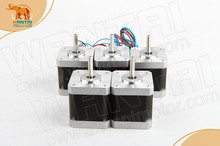 Hot Sale! 5PCS Wantai Nema17 Stepper Motor 42BYGHW609P1 Single Flat 56oz-in 40mm 1.7A 4-Lead ROHZ CE ISO 3D Printer(China)